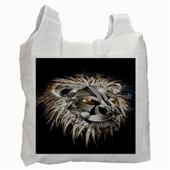 Lion Robot Recycle Bag (two Side)