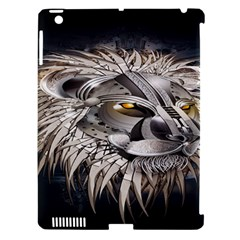 Lion Robot Apple Ipad 3/4 Hardshell Case (compatible With Smart Cover)