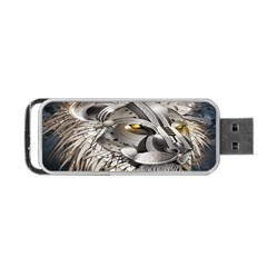 Lion Robot Portable Usb Flash (one Side)