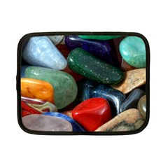 Stones Colors Pattern Pebbles Macro Rocks Netbook Case (small)