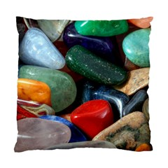 Stones Colors Pattern Pebbles Macro Rocks Standard Cushion Case (one Side)