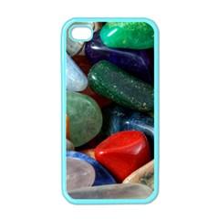 Stones Colors Pattern Pebbles Macro Rocks Apple Iphone 4 Case (color)