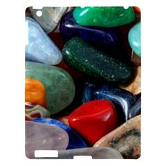 Stones Colors Pattern Pebbles Macro Rocks Apple Ipad 3/4 Hardshell Case