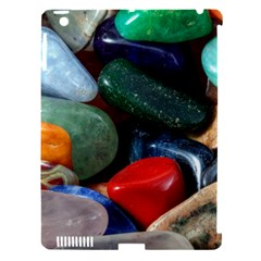 Stones Colors Pattern Pebbles Macro Rocks Apple Ipad 3/4 Hardshell Case (compatible With Smart Cover)