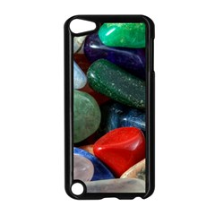 Stones Colors Pattern Pebbles Macro Rocks Apple Ipod Touch 5 Case (black)