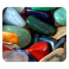 Stones Colors Pattern Pebbles Macro Rocks Double Sided Flano Blanket (small)