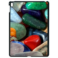Stones Colors Pattern Pebbles Macro Rocks Apple Ipad Pro 9 7   Black Seamless Case