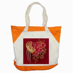 Love Heart Accent Tote Bag
