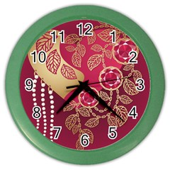 Love Heart Color Wall Clocks