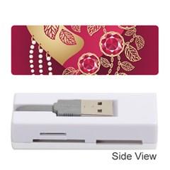 Love Heart Memory Card Reader (stick)