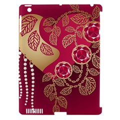 Love Heart Apple Ipad 3/4 Hardshell Case (compatible With Smart Cover)