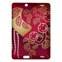 Love Heart Amazon Kindle Fire Hd (2013) Hardshell Case