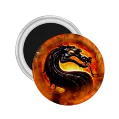 Dragon And Fire 2 25  Magnets