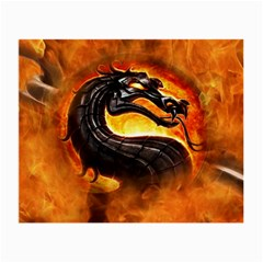 Dragon And Fire Small Glasses Cloth (2 Side)