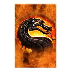 Dragon And Fire Shower Curtain 48  X 72  (small)