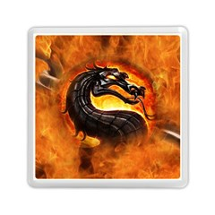 Dragon And Fire Memory Card Reader (square)