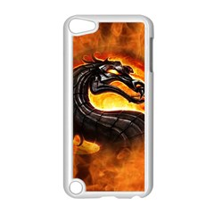 Dragon And Fire Apple Ipod Touch 5 Case (white)