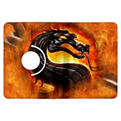 Dragon And Fire Kindle Fire Hdx Flip 360 Case