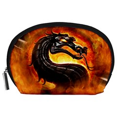 Dragon And Fire Accessory Pouches (large)