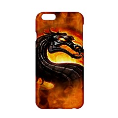 Dragon And Fire Apple Iphone 6/6s Hardshell Case