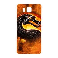 Dragon And Fire Samsung Galaxy Alpha Hardshell Back Case