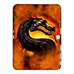 Dragon And Fire Samsung Galaxy Tab 4 (10 1 ) Hardshell Case