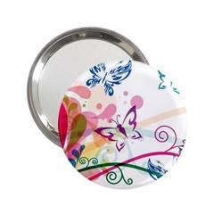 Butterfly Vector Art 2 25  Handbag Mirrors