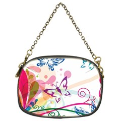 Butterfly Vector Art Chain Purses (two Sides)