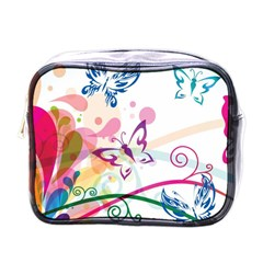 Butterfly Vector Art Mini Toiletries Bags