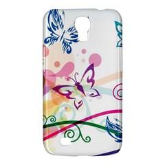Butterfly Vector Art Samsung Galaxy Mega 6 3  I9200 Hardshell Case