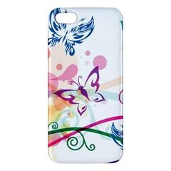 Butterfly Vector Art Iphone 5s/ Se Premium Hardshell Case