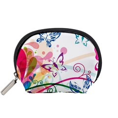 Butterfly Vector Art Accessory Pouches (small)