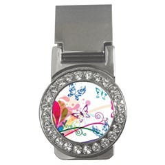 Butterfly Vector Art Money Clips (cz)