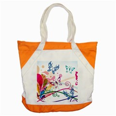 Butterfly Vector Art Accent Tote Bag