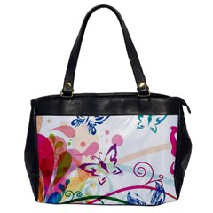 Butterfly Vector Art Office Handbags