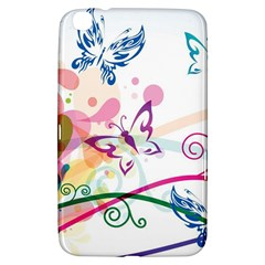Butterfly Vector Art Samsung Galaxy Tab 3 (8 ) T3100 Hardshell Case