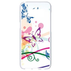 Butterfly Vector Art Samsung Galaxy S8 White Seamless Case