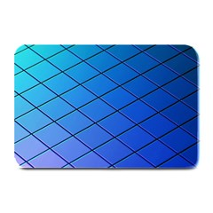 Blue Pattern Plain Cartoon Plate Mats