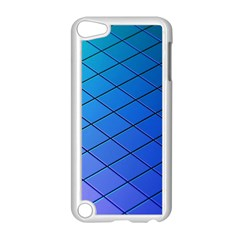 Blue Pattern Plain Cartoon Apple Ipod Touch 5 Case (white)