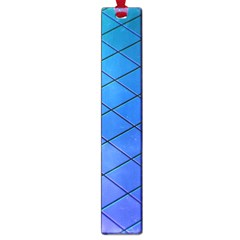 Blue Pattern Plain Cartoon Large Book Marks