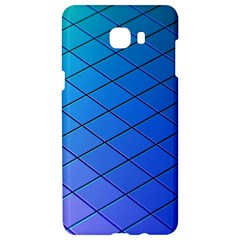 Blue Pattern Plain Cartoon Samsung C9 Pro Hardshell Case