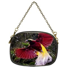 Cendrawasih Beautiful Bird Of Paradise Chain Purses (one Side)