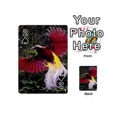 Cendrawasih Beautiful Bird Of Paradise Playing Cards 54 (mini)