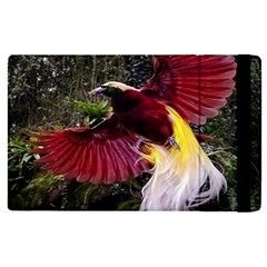Cendrawasih Beautiful Bird Of Paradise Apple Ipad 3/4 Flip Case