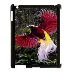 Cendrawasih Beautiful Bird Of Paradise Apple Ipad 3/4 Case (black)