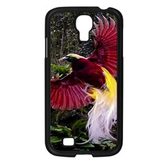 Cendrawasih Beautiful Bird Of Paradise Samsung Galaxy S4 I9500/ I9505 Case (black)