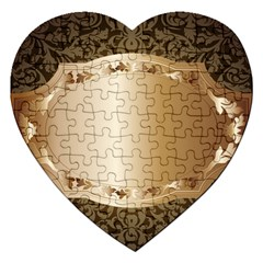 Floral 3 Jigsaw Puzzle (heart)