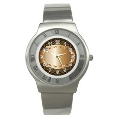 Floral 3 Stainless Steel Watch