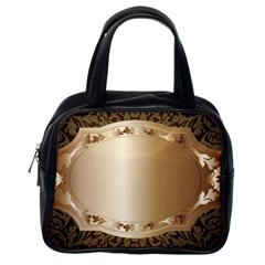 Floral 3 Classic Handbags (one Side)