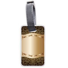 Floral 3 Luggage Tags (one Side)